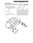 Monoblock Brake Caliper Having Crossover Reinforcement Elements diagram and image