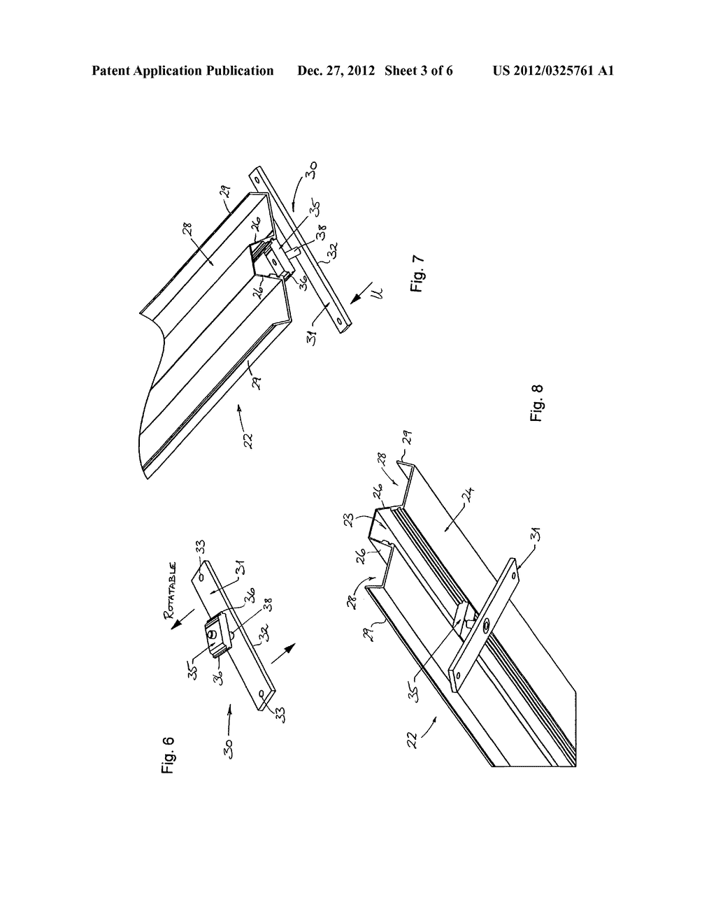 MOUNTING SYSTEM FOR SOLAR PANELS, AND MOUNTING RAIL AND ANCHORING DEVICE     THEREFOR - diagram, schematic, and image 04