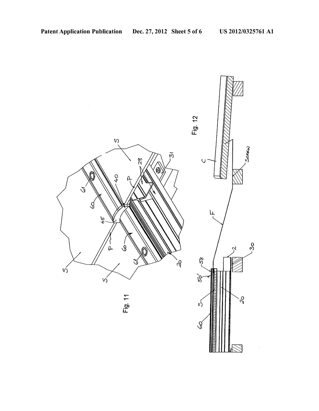 MOUNTING SYSTEM FOR SOLAR PANELS, AND MOUNTING RAIL AND ANCHORING DEVICE     THEREFOR - diagram, schematic, and image 06