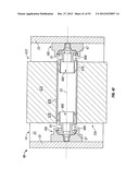 RAMPED ACTUATOR FOR ENGAGEMENT FLANGE ON REMOVABLE DISPENSER CARTRIDGE diagram and image