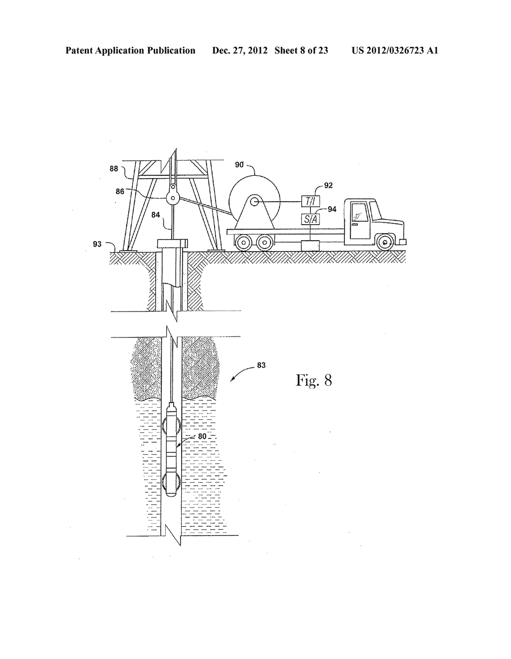 Apparatus and Method for Actively Balancing Impedance of A Resistivity     Measuring Tool - diagram, schematic, and image 09