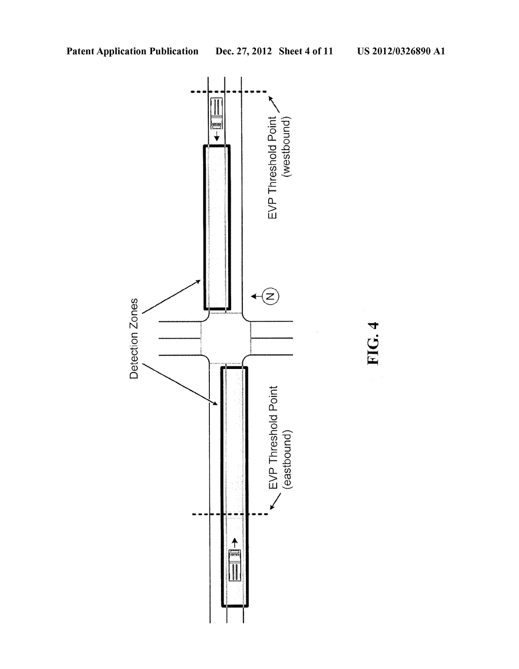 Signal Light Priority System Utilizing Estimated Time of Arrival - diagram, schematic, and image 05