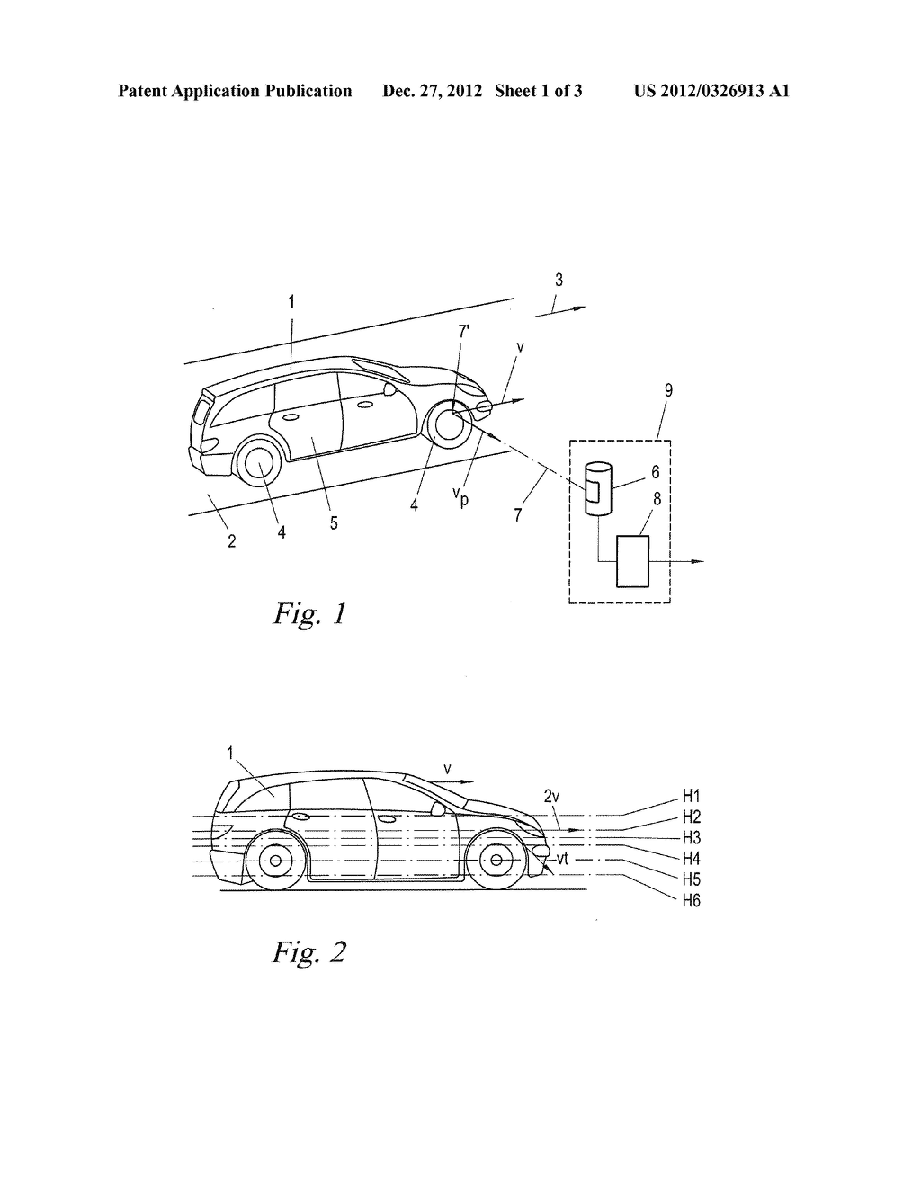 METHOD AND APPARATUS FOR DETECTING VEHICLE WHEELS - diagram, schematic, and image 02