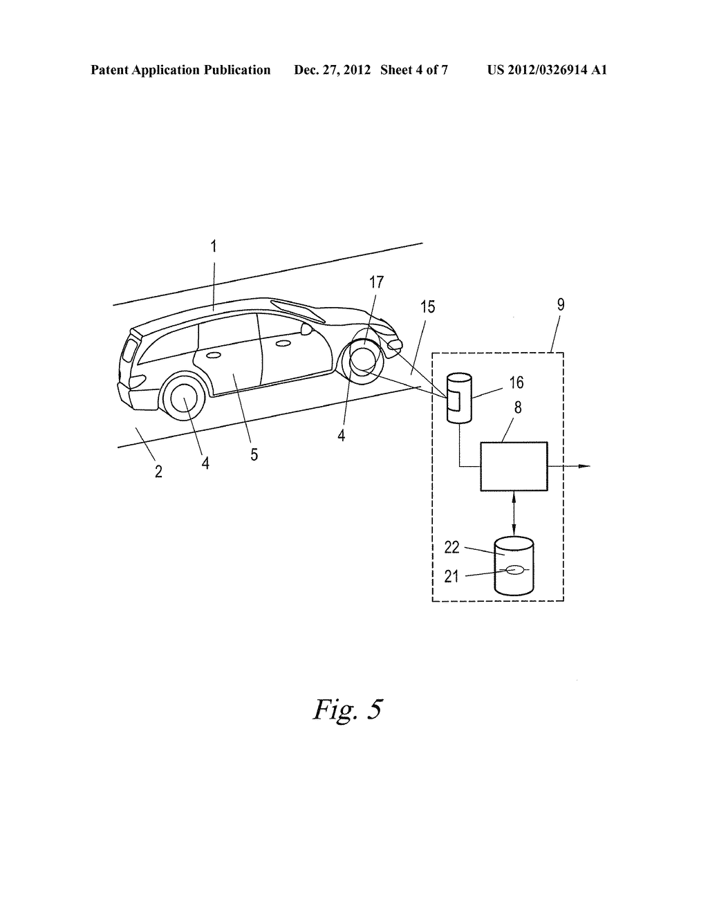 Method and Apparatus for Detecting Vehicle Wheels - diagram, schematic, and image 05