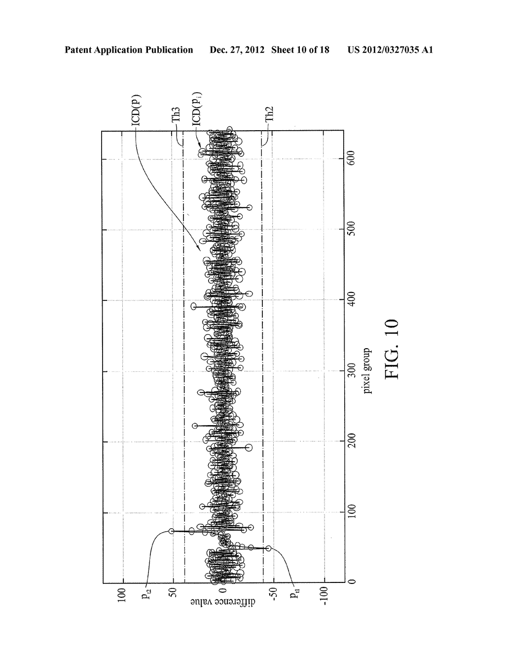 OPTICAL TOUCH SYSTEM AND IMAGE PROCESSING METHOD THEREOF - diagram, schematic, and image 11