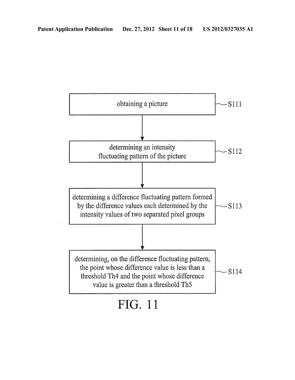 OPTICAL TOUCH SYSTEM AND IMAGE PROCESSING METHOD THEREOF - diagram, schematic, and image 12