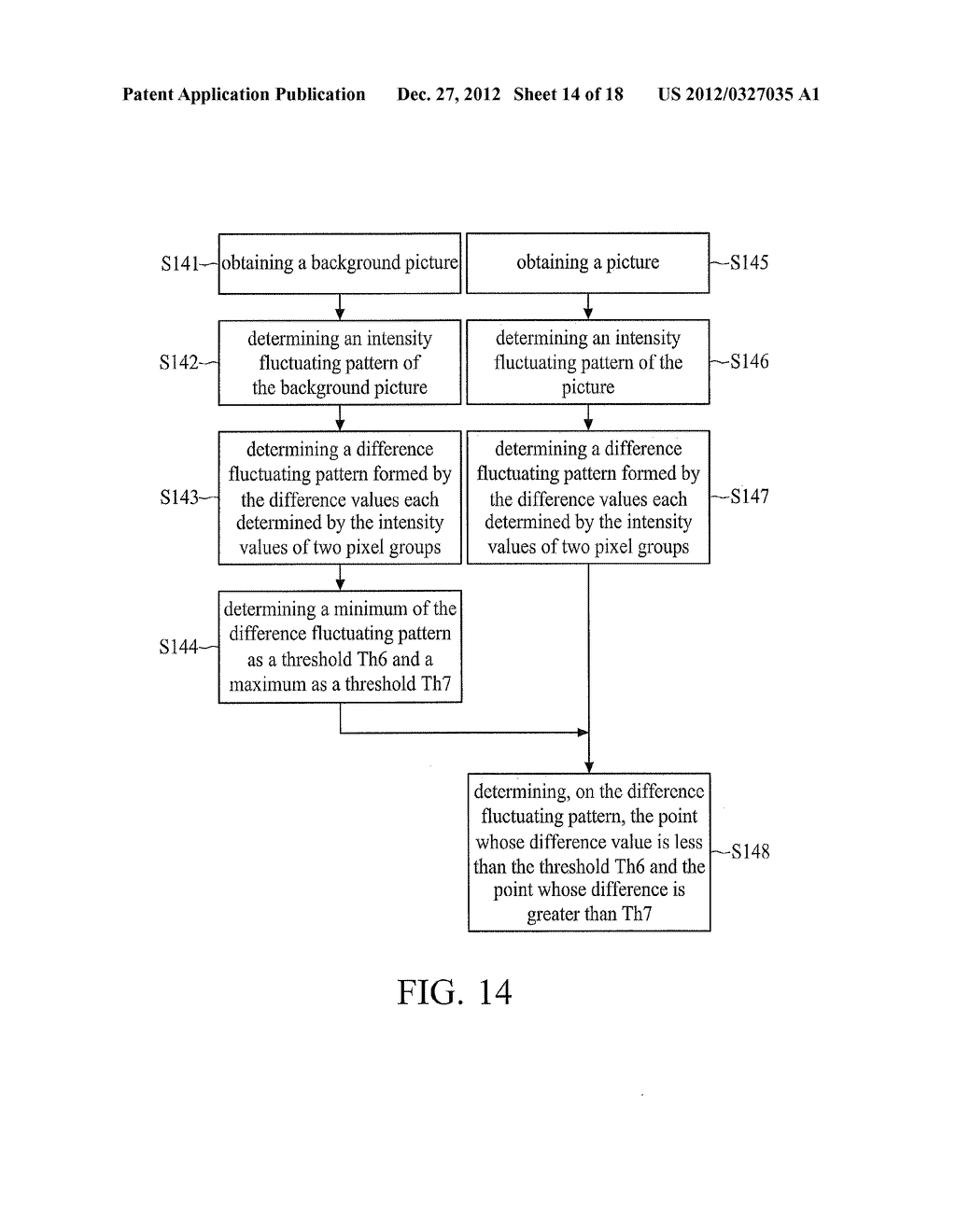 OPTICAL TOUCH SYSTEM AND IMAGE PROCESSING METHOD THEREOF - diagram, schematic, and image 15