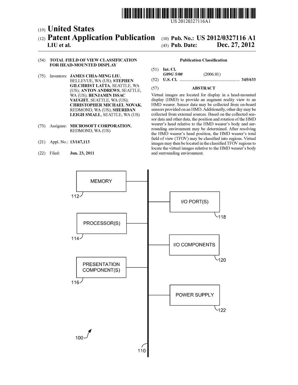 TOTAL FIELD OF VIEW CLASSIFICATION FOR HEAD-MOUNTED DISPLAY - diagram, schematic, and image 01