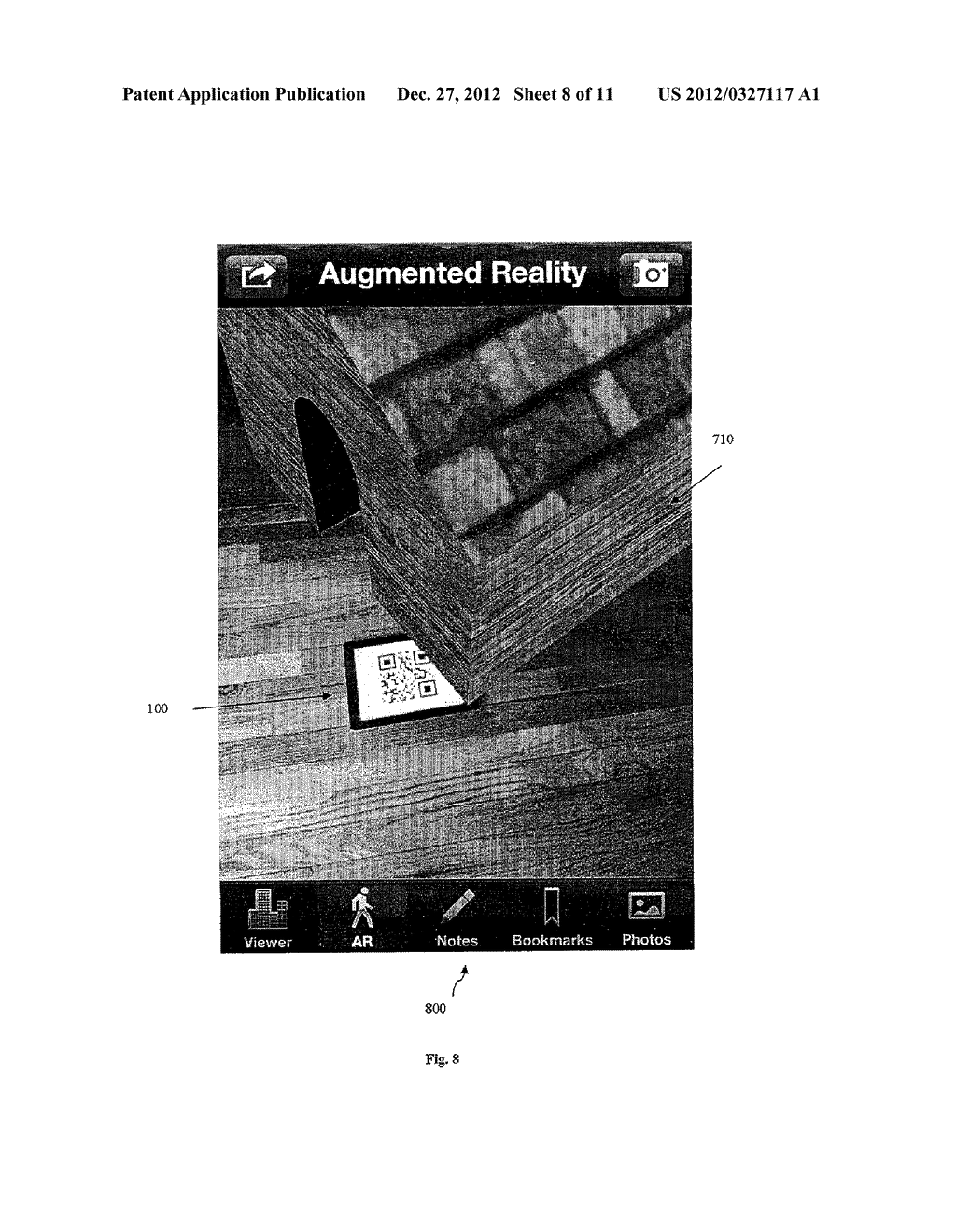 DIGITALLY ENCODED MARKER-BASED AUGMENTED REALITY (AR) - diagram, schematic, and image 09