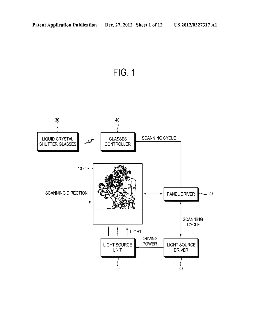 LIQUID CRYSTAL DISPLAY AND CONTROL METHOD THEREOF - diagram, schematic, and image 02