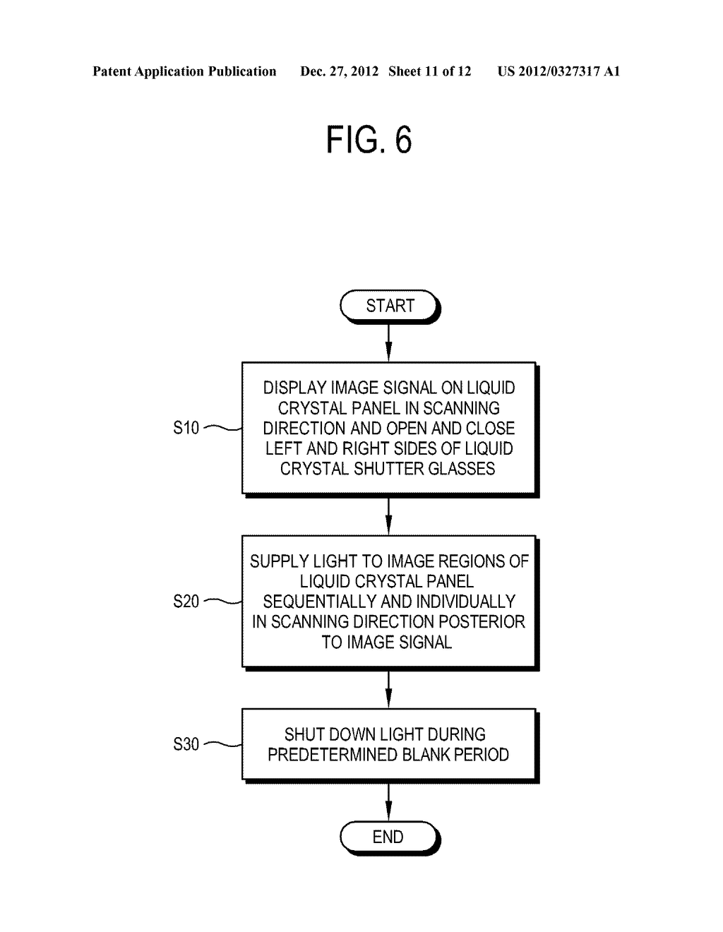 LIQUID CRYSTAL DISPLAY AND CONTROL METHOD THEREOF - diagram, schematic, and image 12