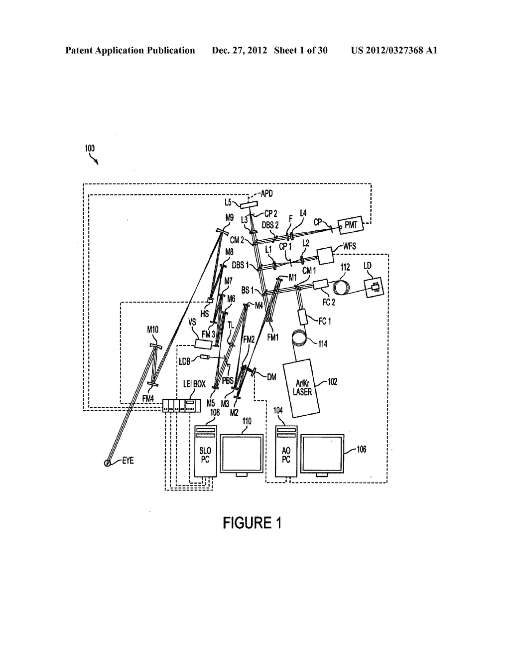 METHOD AND APPARATUS FOR IMAGING IN AN EYE - diagram, schematic, and image 02