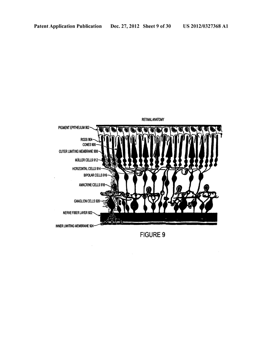 METHOD AND APPARATUS FOR IMAGING IN AN EYE - diagram, schematic, and image 10
