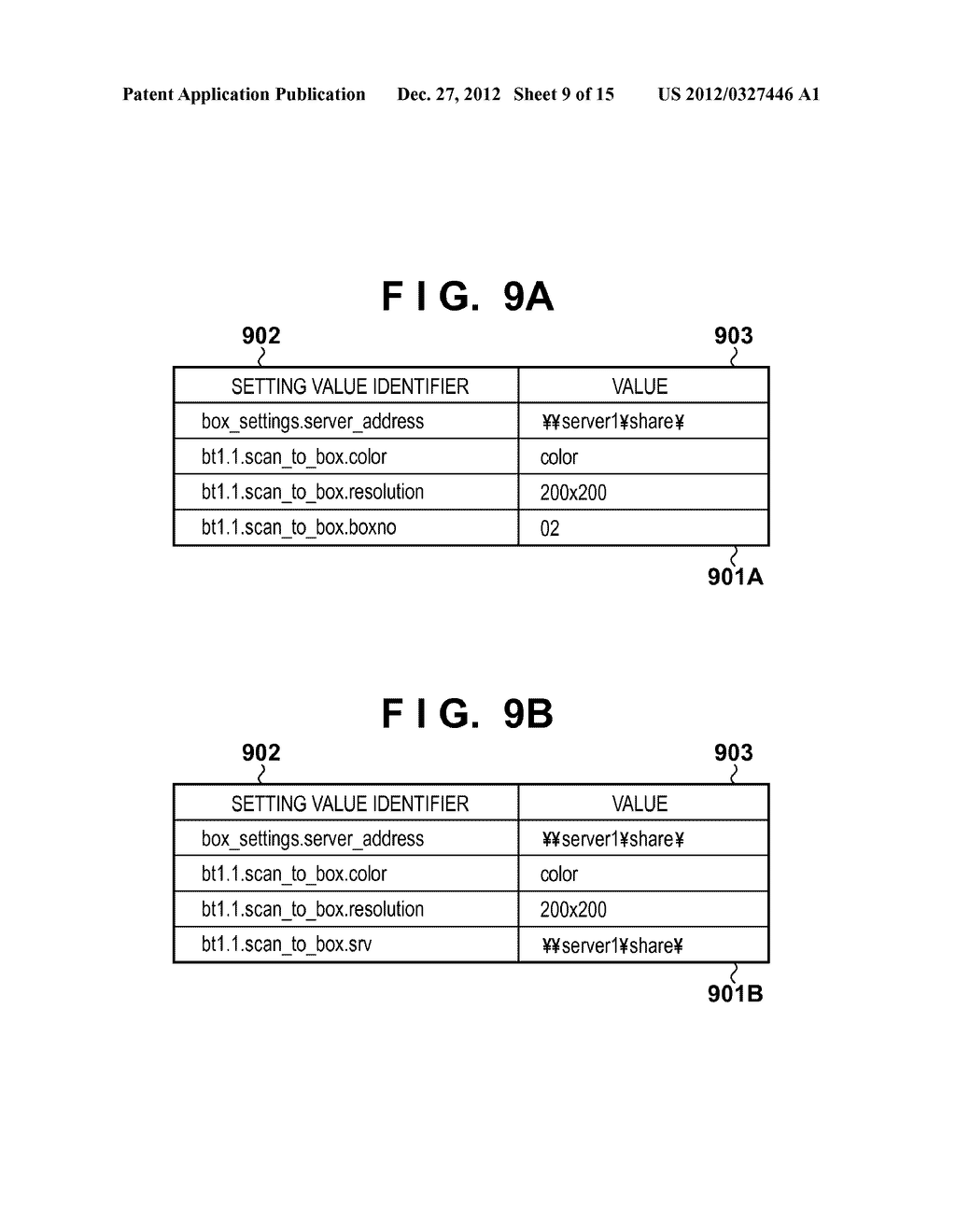 SETTING VALUE MANAGEMENT APPARATUS, SETTING VALUE MANAGEMENT METHOD, AND     COMPUTER-READABLE MEDIUM - diagram, schematic, and image 10