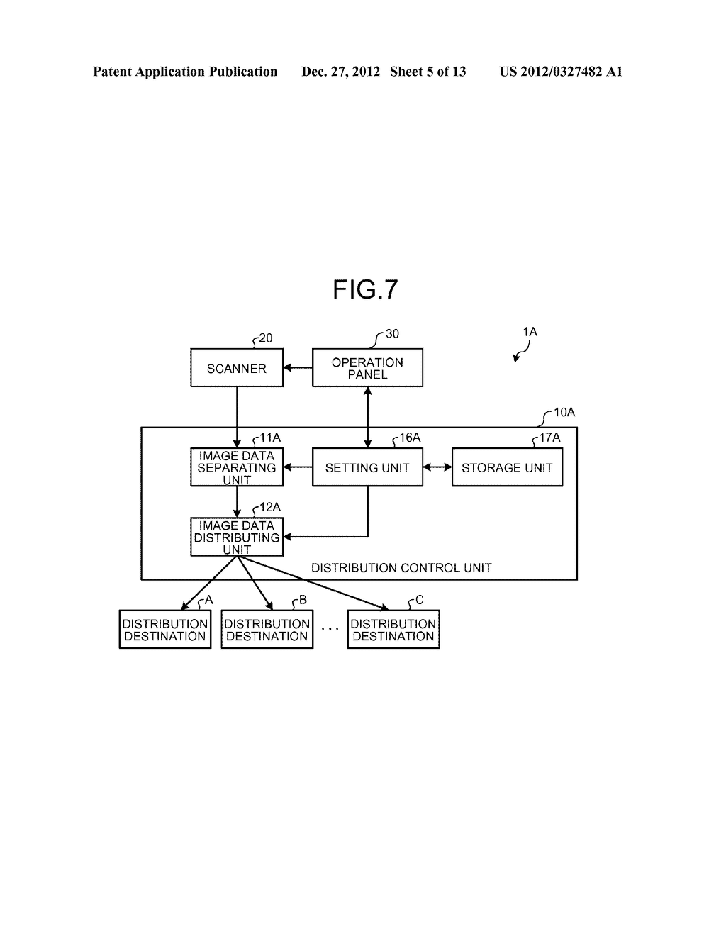 IMAGE DATA DISTRIBUTION APPARATUS, IMAGE DATA DISTRIBUTION SYSTEM, AND     COMPUTER-READABLE STORAGE MEDIUM - diagram, schematic, and image 06