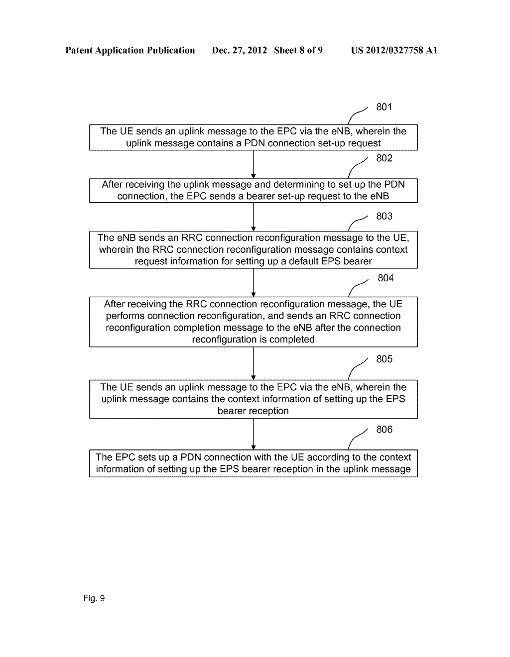 Method, system and device for processing release failure of packet data     network - diagram, schematic, and image 09