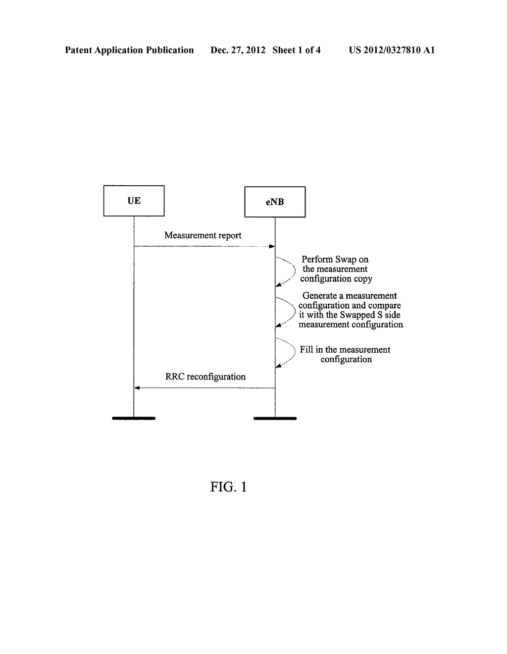 METHOD AND DEVICE FOR SENDING INTER-FREQUENCY MEASUREMENT CONFIGURATIONS     DOWNWARDS - diagram, schematic, and image 02