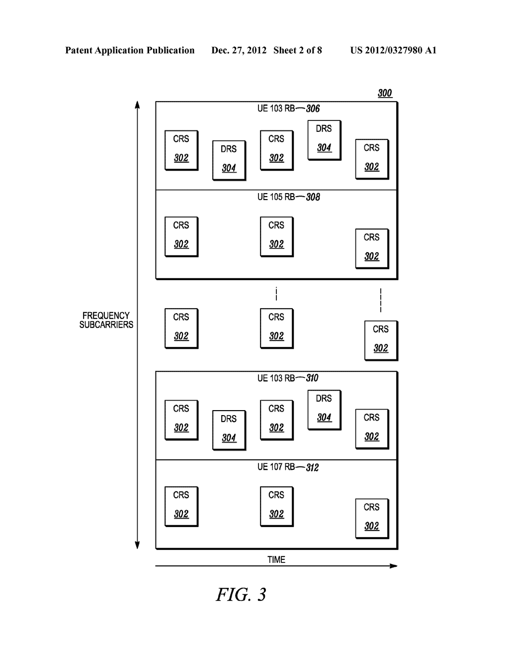 Method of Signaling Particular Types of Resource Elements in a Wireless     Communication System - diagram, schematic, and image 03