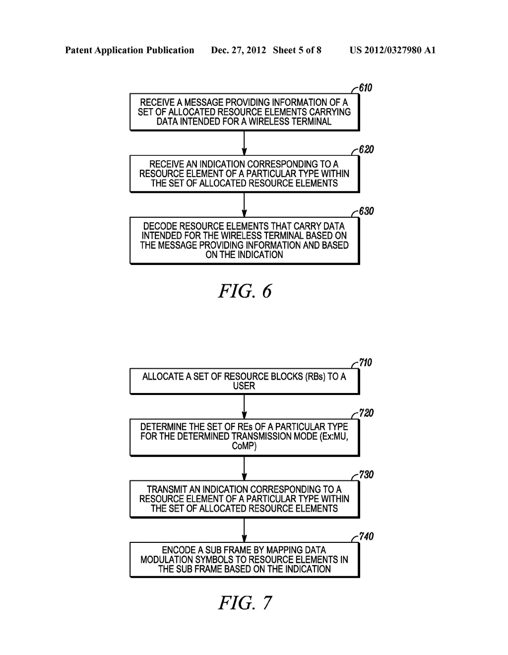 Method of Signaling Particular Types of Resource Elements in a Wireless     Communication System - diagram, schematic, and image 06