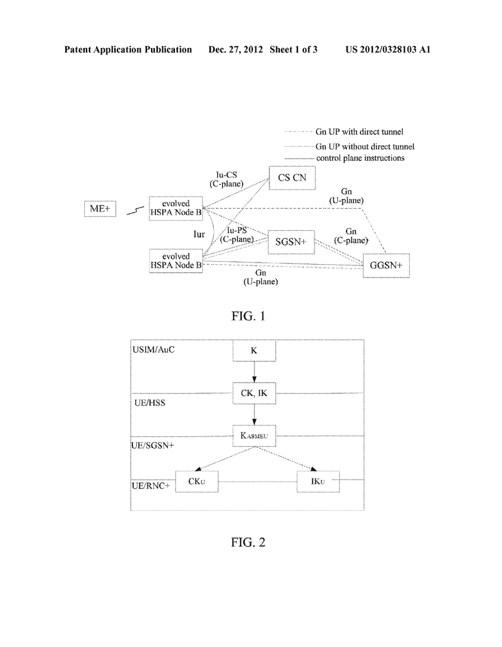 Method and System for Managing Air Interface Key - diagram, schematic, and image 02