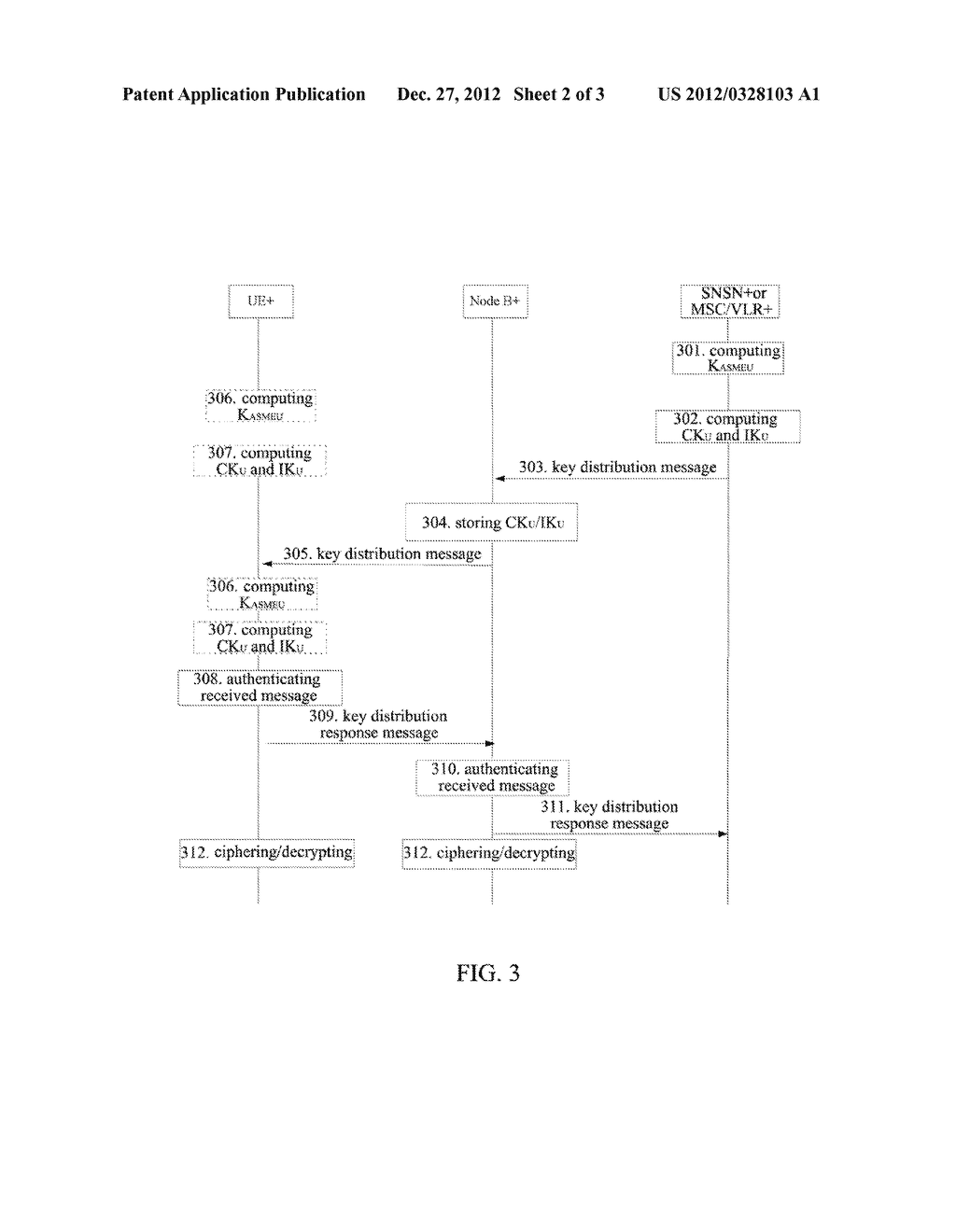 Method and System for Managing Air Interface Key - diagram, schematic, and image 03
