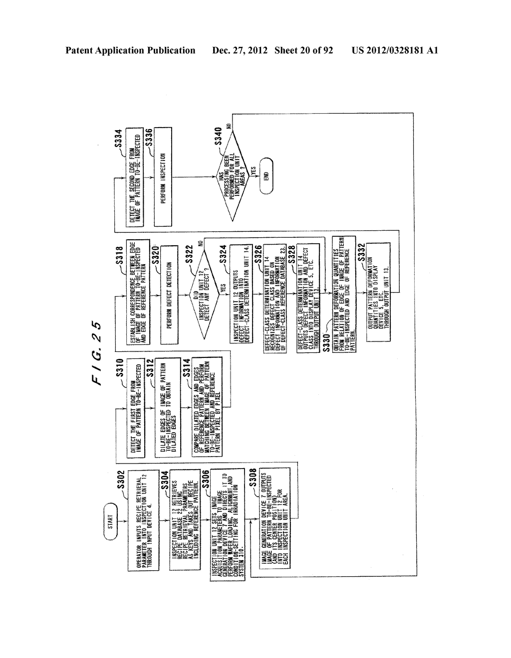 PATTERN INSPECTION APPARATUS AND METHOD - diagram, schematic, and image 21