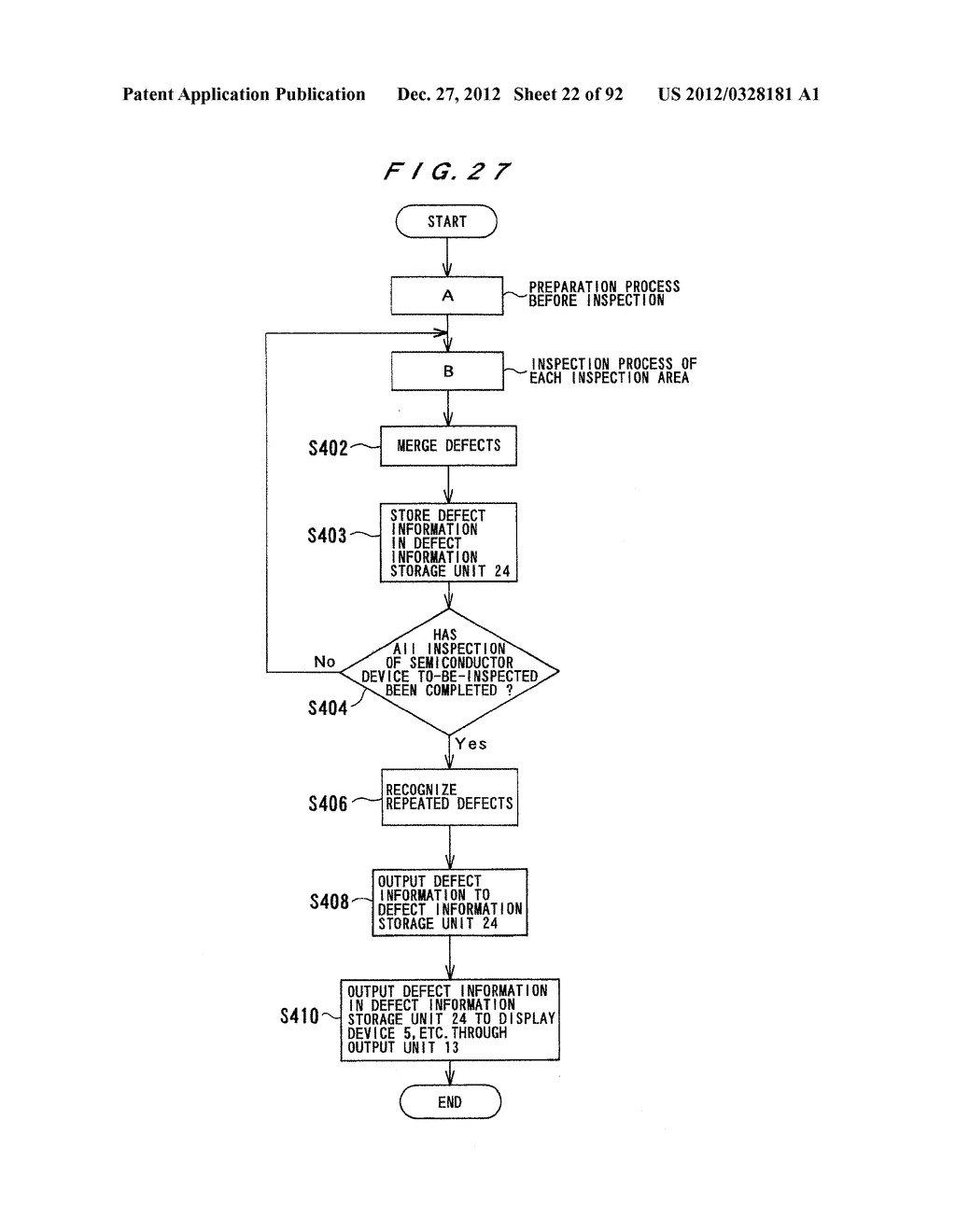 PATTERN INSPECTION APPARATUS AND METHOD - diagram, schematic, and image 23