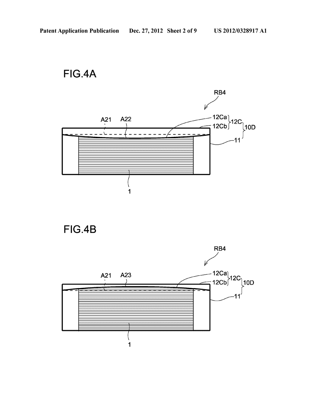 SECONDARY BATTERY AND METHOD FOR PRODUCING SAME - diagram, schematic, and image 03