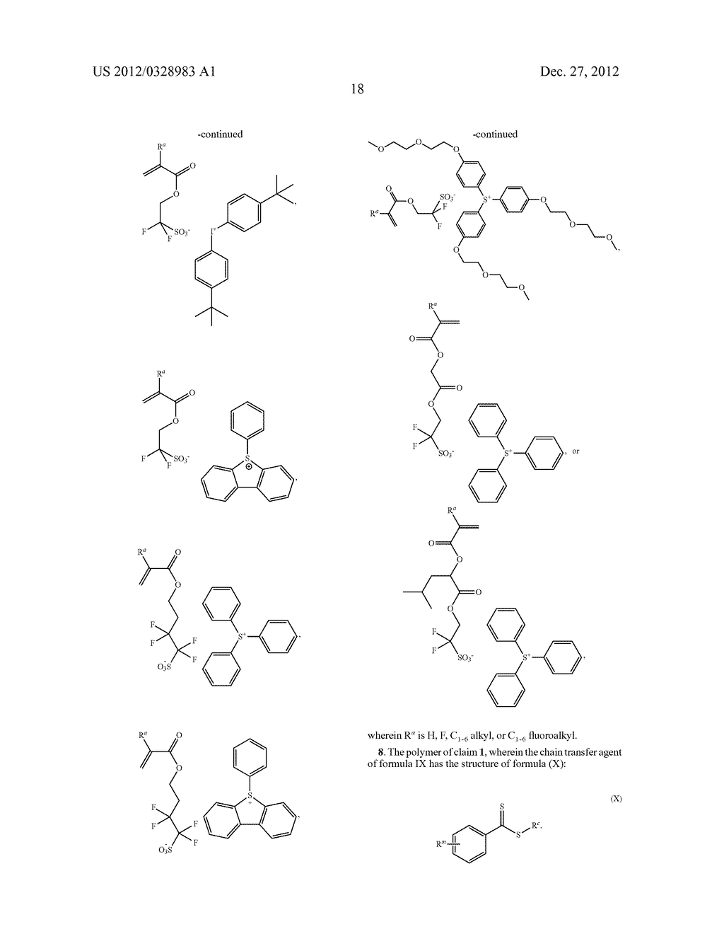 POLYMER COMPOSITION AND PHOTORESIST COMPRISING SAME - diagram, schematic, and image 20