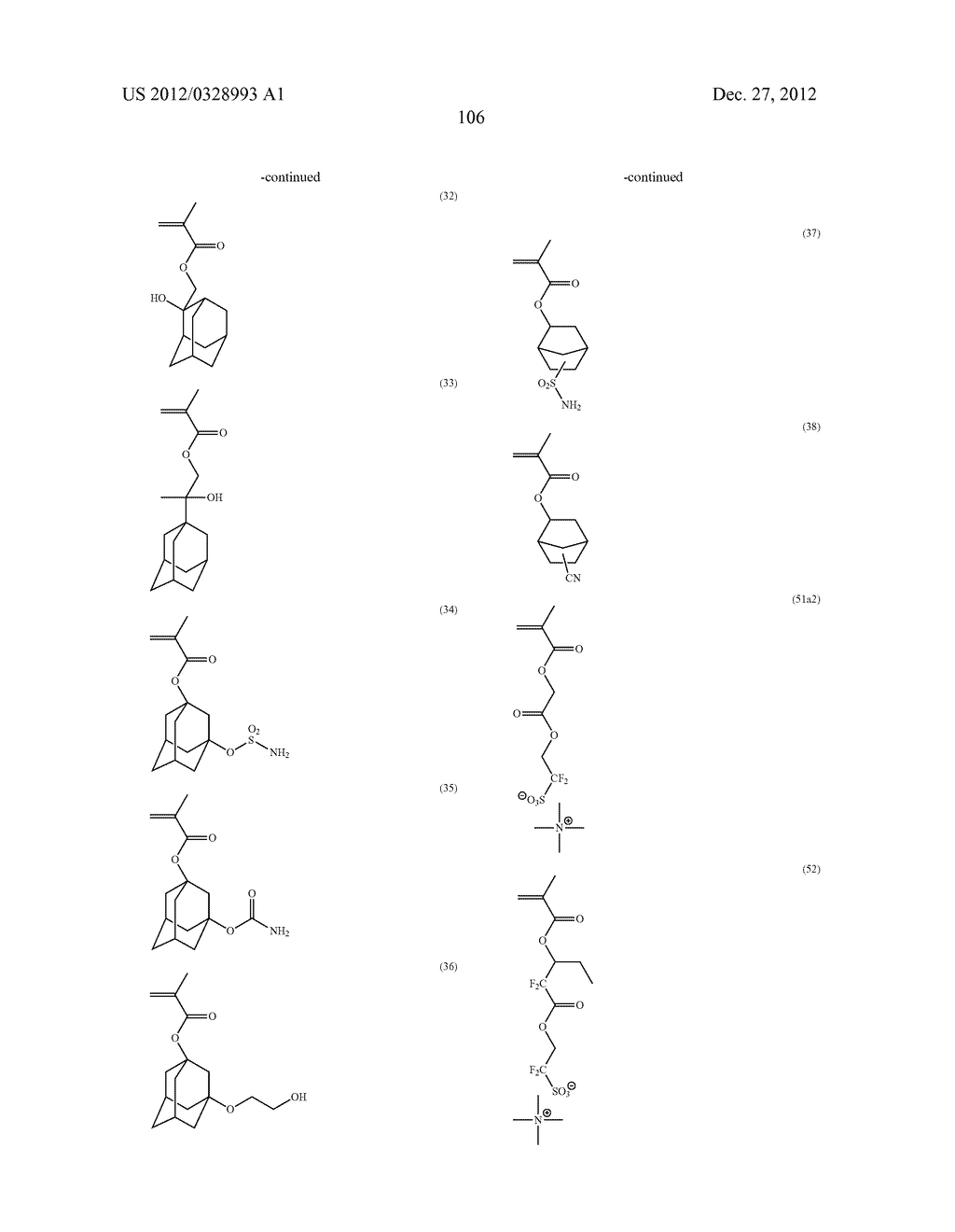 METHOD OF PRODUCING POLYMERIC COMPOUND, RESIST COMPOSITION, AND METHOD OF     FORMING RESIST PATTERN - diagram, schematic, and image 107