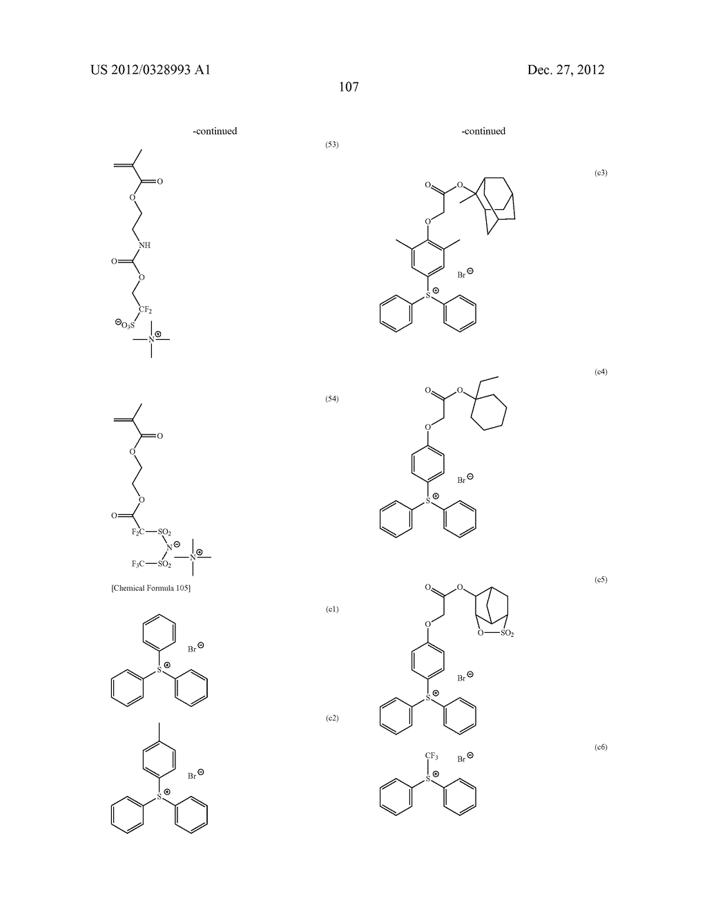 METHOD OF PRODUCING POLYMERIC COMPOUND, RESIST COMPOSITION, AND METHOD OF     FORMING RESIST PATTERN - diagram, schematic, and image 108