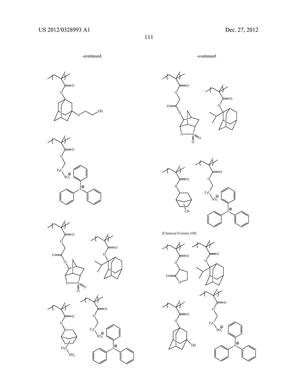 METHOD OF PRODUCING POLYMERIC COMPOUND, RESIST COMPOSITION, AND METHOD OF     FORMING RESIST PATTERN - diagram, schematic, and image 112