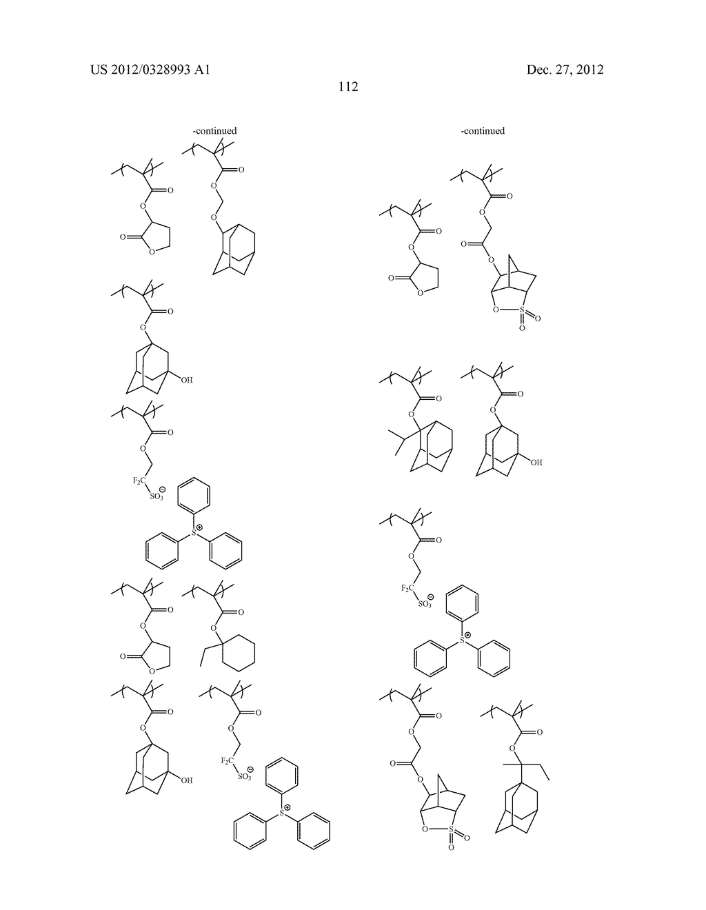 METHOD OF PRODUCING POLYMERIC COMPOUND, RESIST COMPOSITION, AND METHOD OF     FORMING RESIST PATTERN - diagram, schematic, and image 113