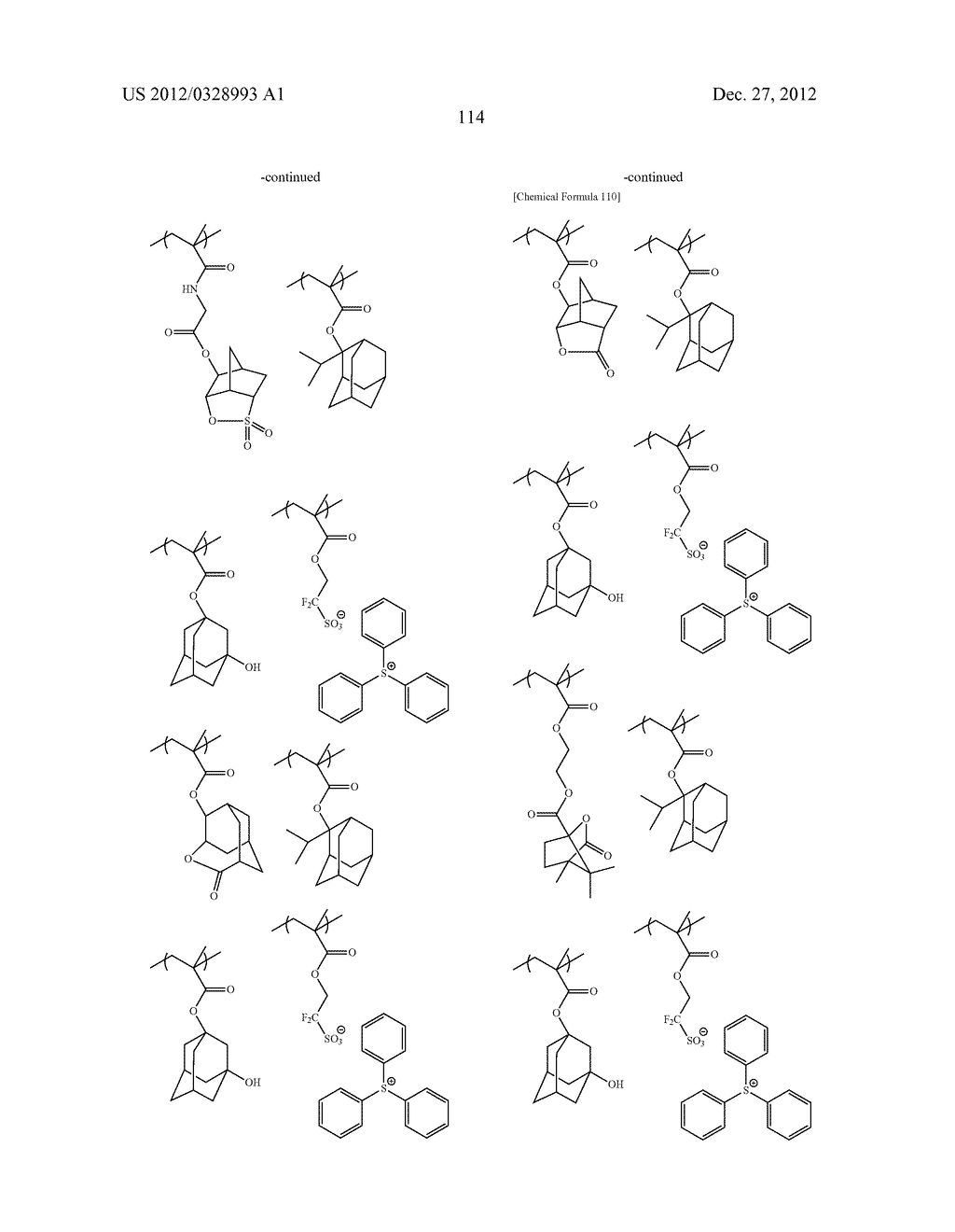 METHOD OF PRODUCING POLYMERIC COMPOUND, RESIST COMPOSITION, AND METHOD OF     FORMING RESIST PATTERN - diagram, schematic, and image 115