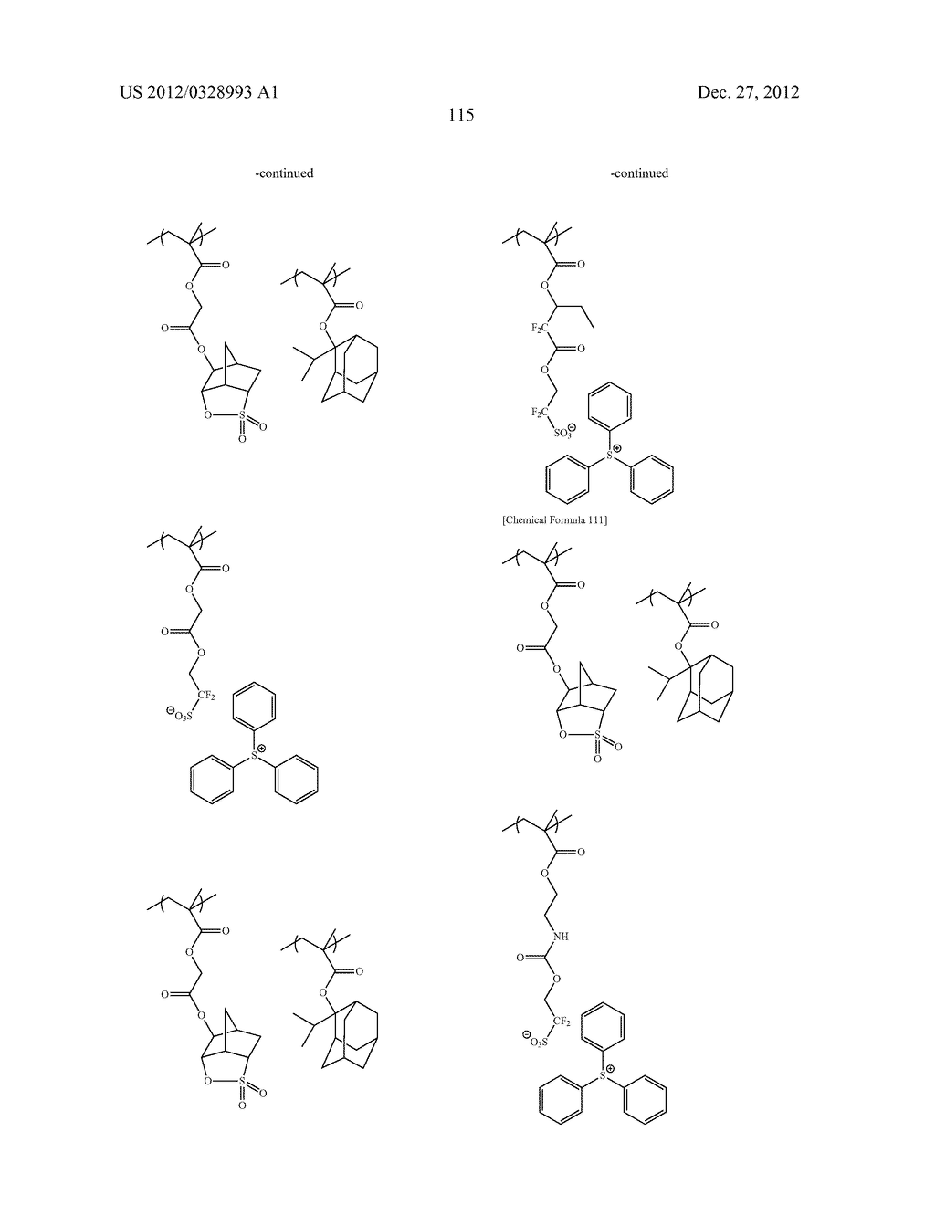 METHOD OF PRODUCING POLYMERIC COMPOUND, RESIST COMPOSITION, AND METHOD OF     FORMING RESIST PATTERN - diagram, schematic, and image 116