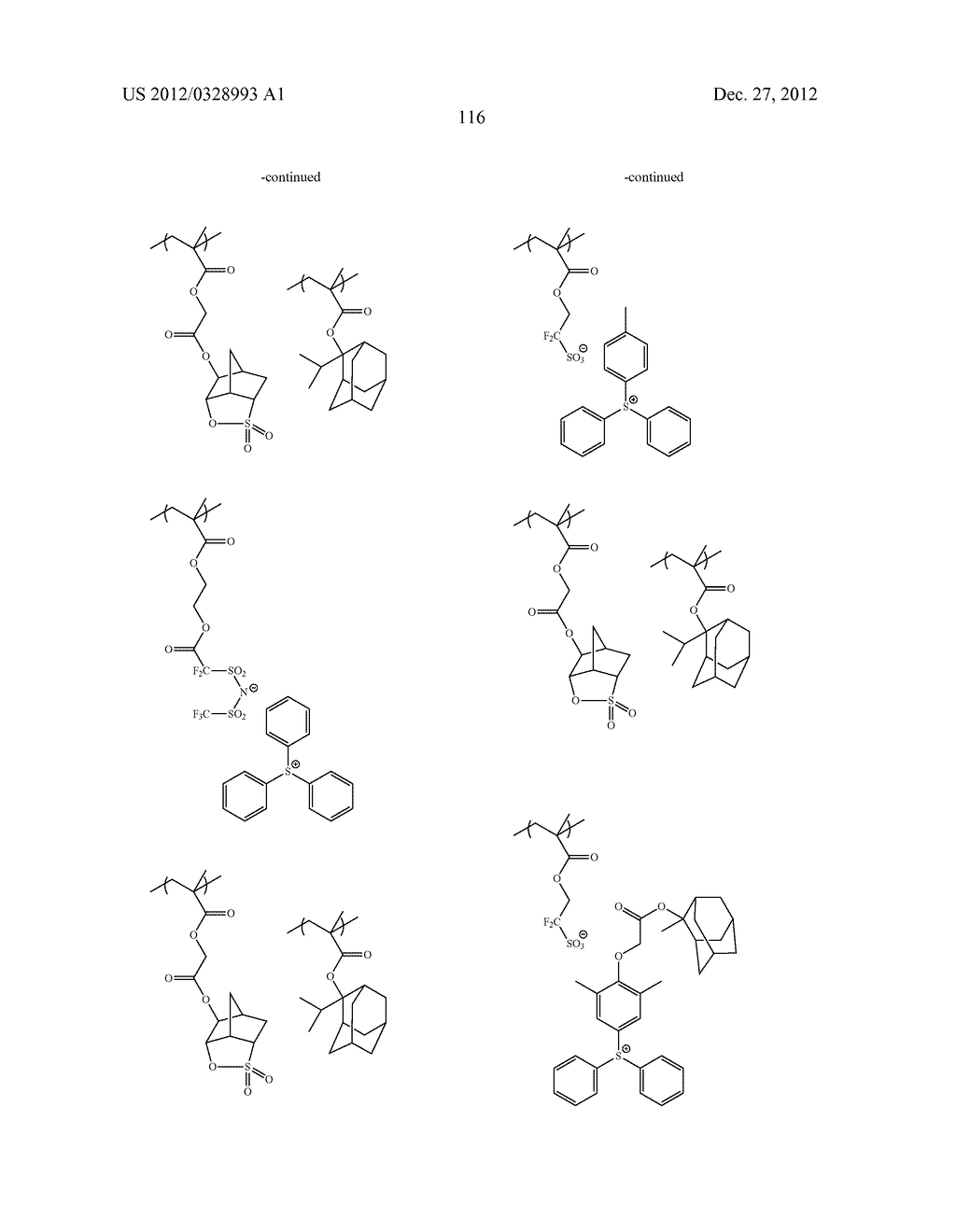 METHOD OF PRODUCING POLYMERIC COMPOUND, RESIST COMPOSITION, AND METHOD OF     FORMING RESIST PATTERN - diagram, schematic, and image 117