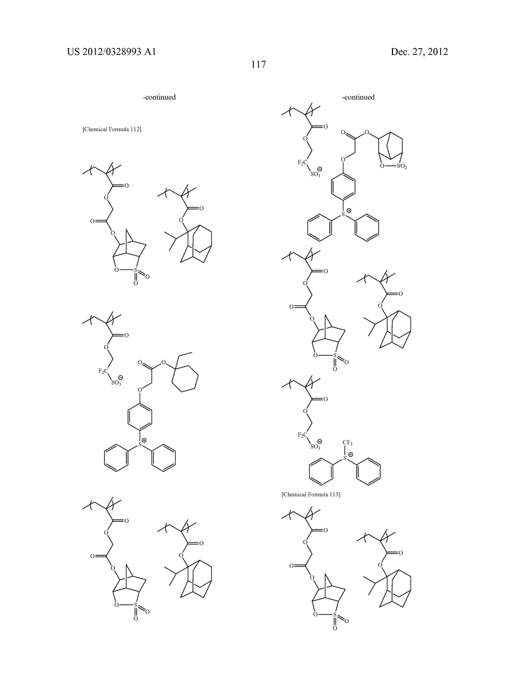 METHOD OF PRODUCING POLYMERIC COMPOUND, RESIST COMPOSITION, AND METHOD OF     FORMING RESIST PATTERN - diagram, schematic, and image 118