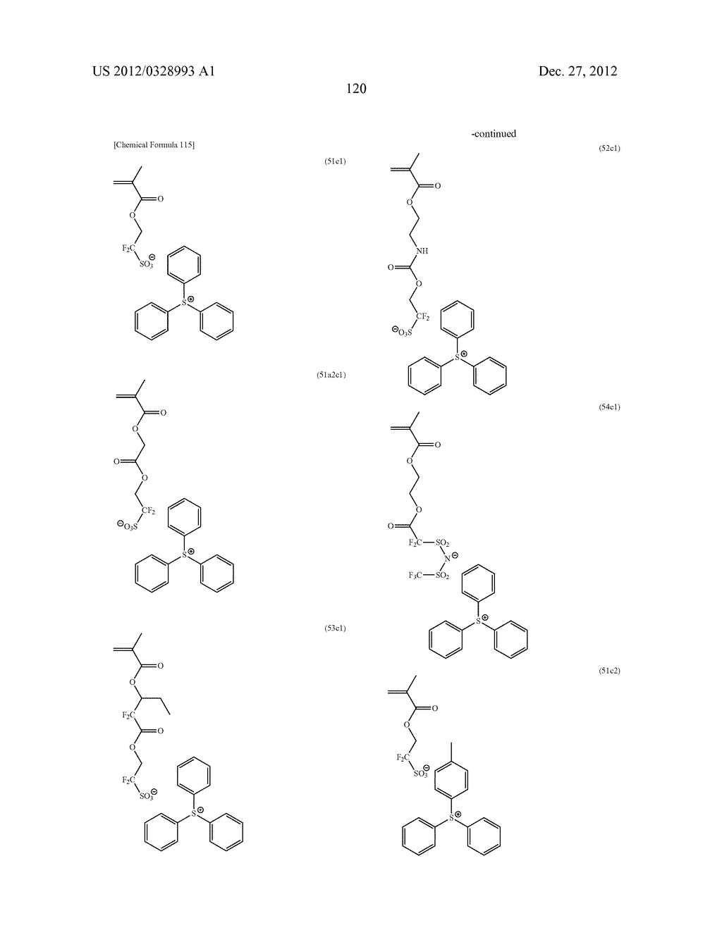 METHOD OF PRODUCING POLYMERIC COMPOUND, RESIST COMPOSITION, AND METHOD OF     FORMING RESIST PATTERN - diagram, schematic, and image 121