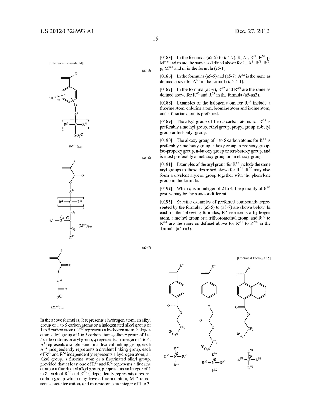 METHOD OF PRODUCING POLYMERIC COMPOUND, RESIST COMPOSITION, AND METHOD OF     FORMING RESIST PATTERN - diagram, schematic, and image 16