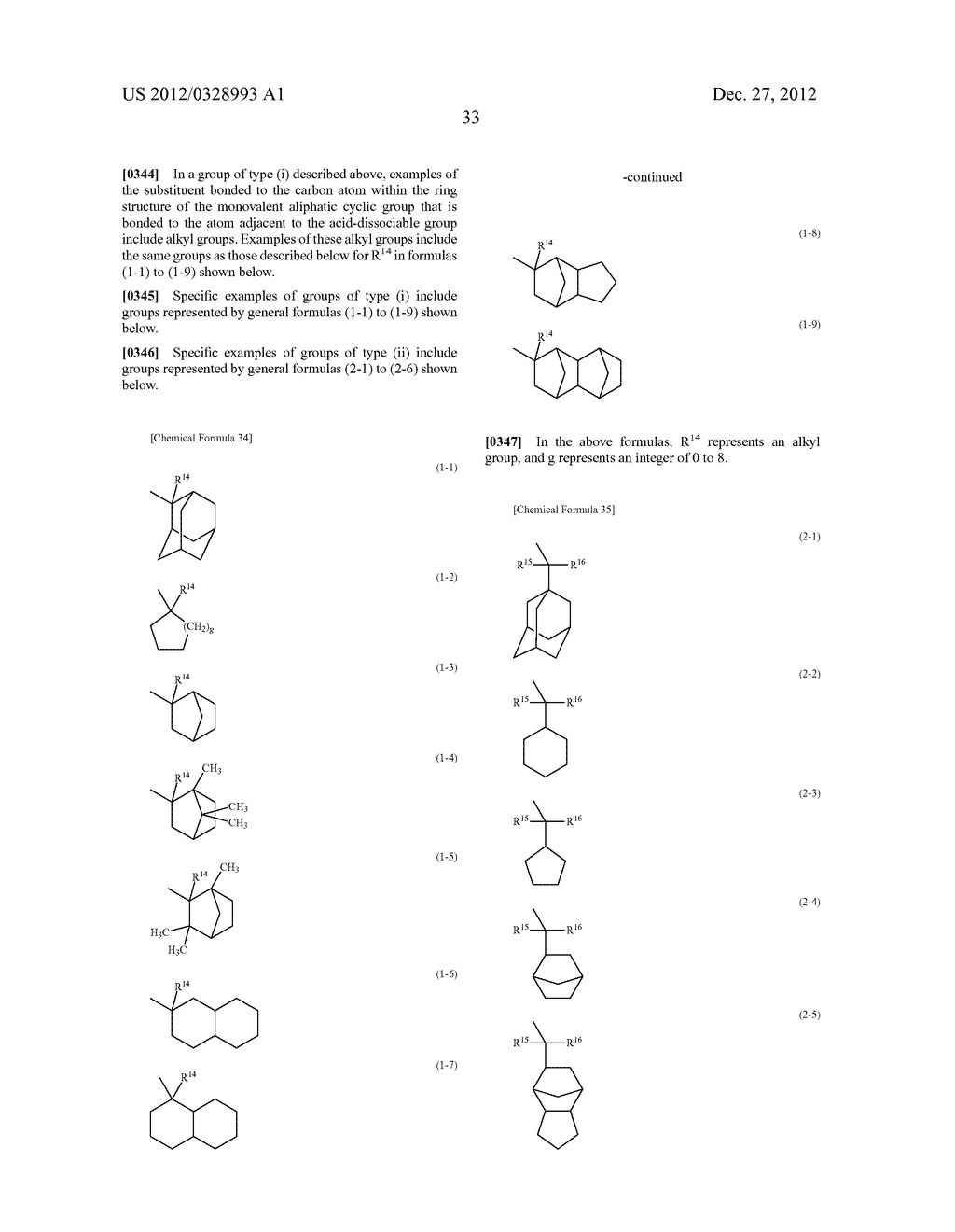 METHOD OF PRODUCING POLYMERIC COMPOUND, RESIST COMPOSITION, AND METHOD OF     FORMING RESIST PATTERN - diagram, schematic, and image 34