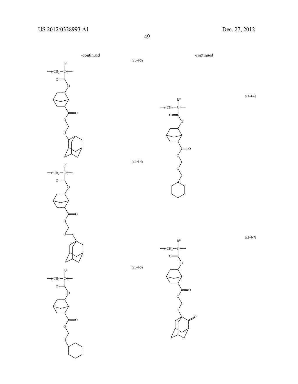 METHOD OF PRODUCING POLYMERIC COMPOUND, RESIST COMPOSITION, AND METHOD OF     FORMING RESIST PATTERN - diagram, schematic, and image 50