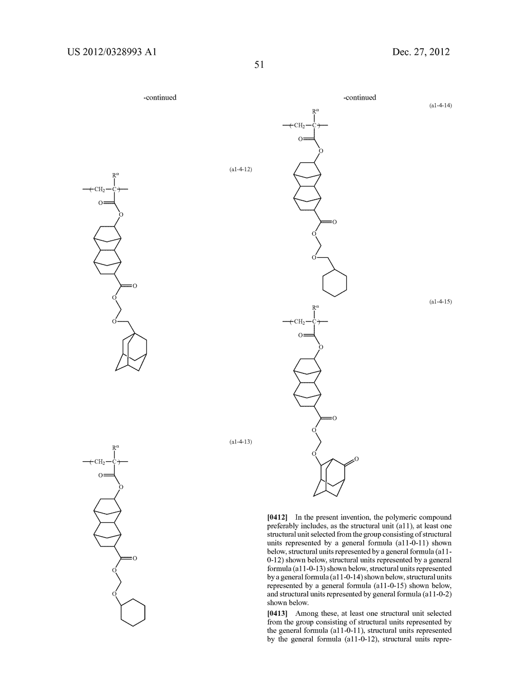METHOD OF PRODUCING POLYMERIC COMPOUND, RESIST COMPOSITION, AND METHOD OF     FORMING RESIST PATTERN - diagram, schematic, and image 52