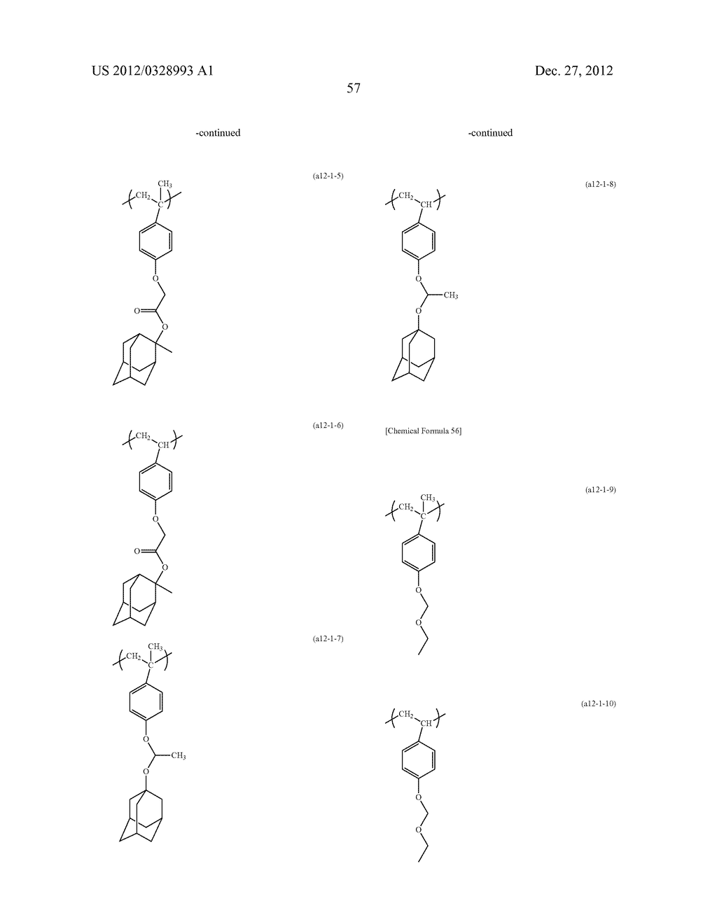 METHOD OF PRODUCING POLYMERIC COMPOUND, RESIST COMPOSITION, AND METHOD OF     FORMING RESIST PATTERN - diagram, schematic, and image 58