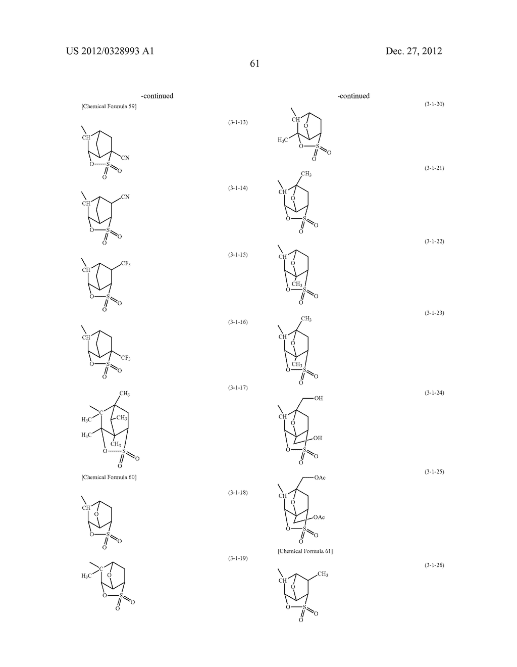 METHOD OF PRODUCING POLYMERIC COMPOUND, RESIST COMPOSITION, AND METHOD OF     FORMING RESIST PATTERN - diagram, schematic, and image 62
