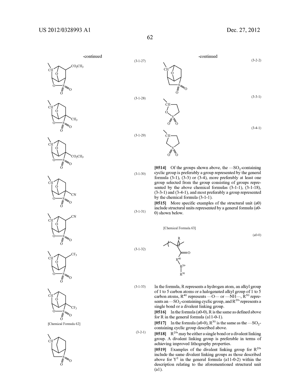 METHOD OF PRODUCING POLYMERIC COMPOUND, RESIST COMPOSITION, AND METHOD OF     FORMING RESIST PATTERN - diagram, schematic, and image 63
