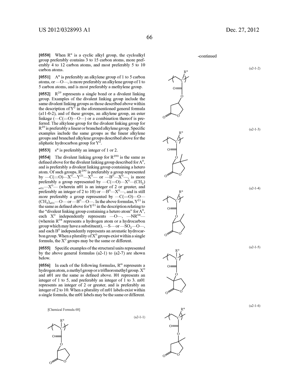 METHOD OF PRODUCING POLYMERIC COMPOUND, RESIST COMPOSITION, AND METHOD OF     FORMING RESIST PATTERN - diagram, schematic, and image 67