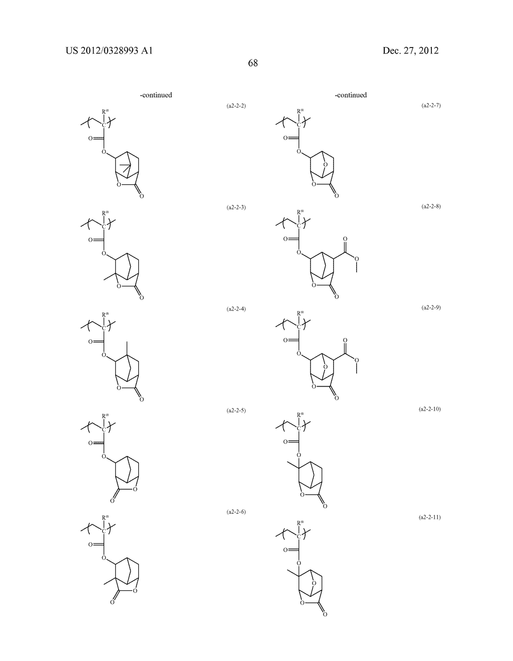 METHOD OF PRODUCING POLYMERIC COMPOUND, RESIST COMPOSITION, AND METHOD OF     FORMING RESIST PATTERN - diagram, schematic, and image 69