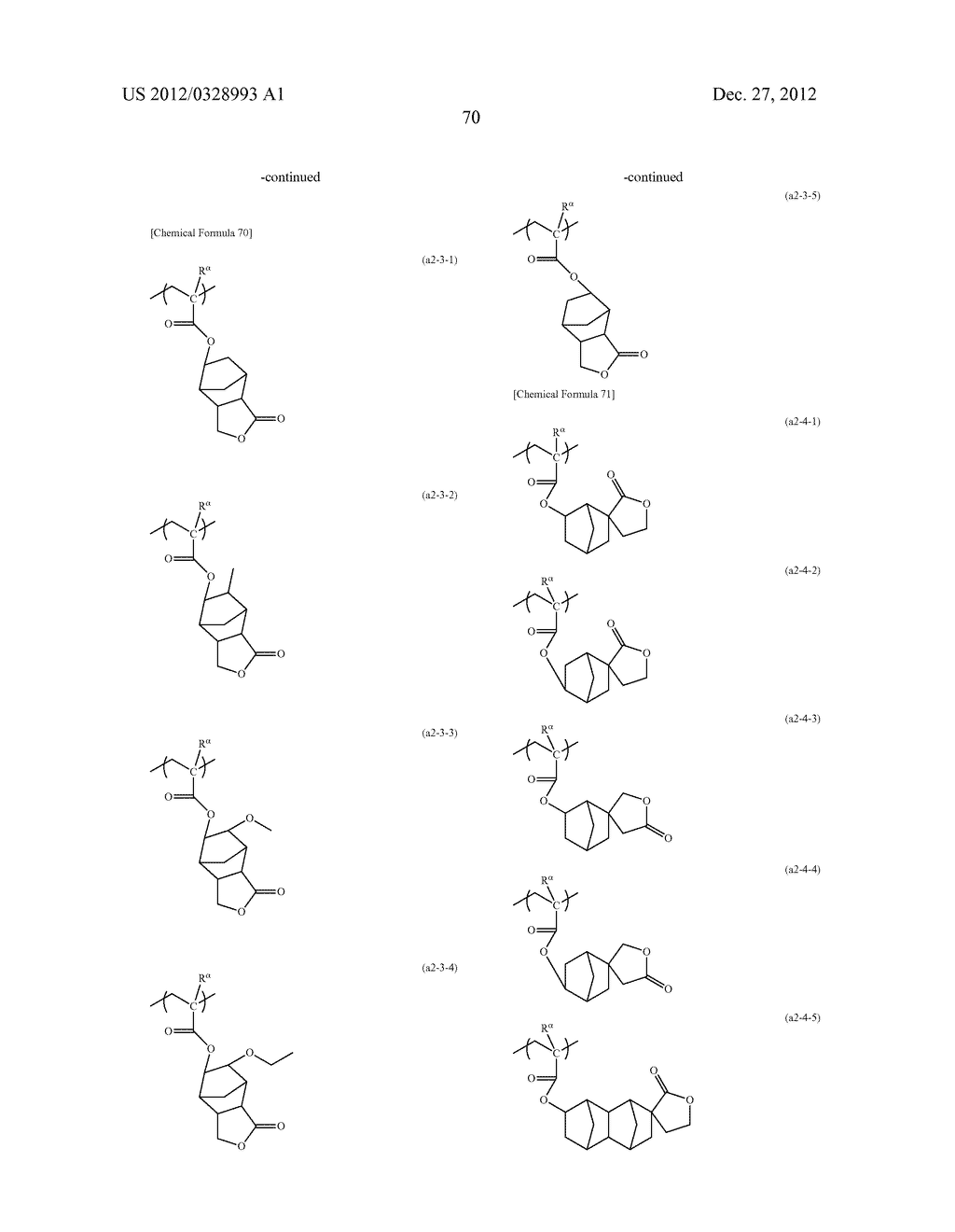 METHOD OF PRODUCING POLYMERIC COMPOUND, RESIST COMPOSITION, AND METHOD OF     FORMING RESIST PATTERN - diagram, schematic, and image 71