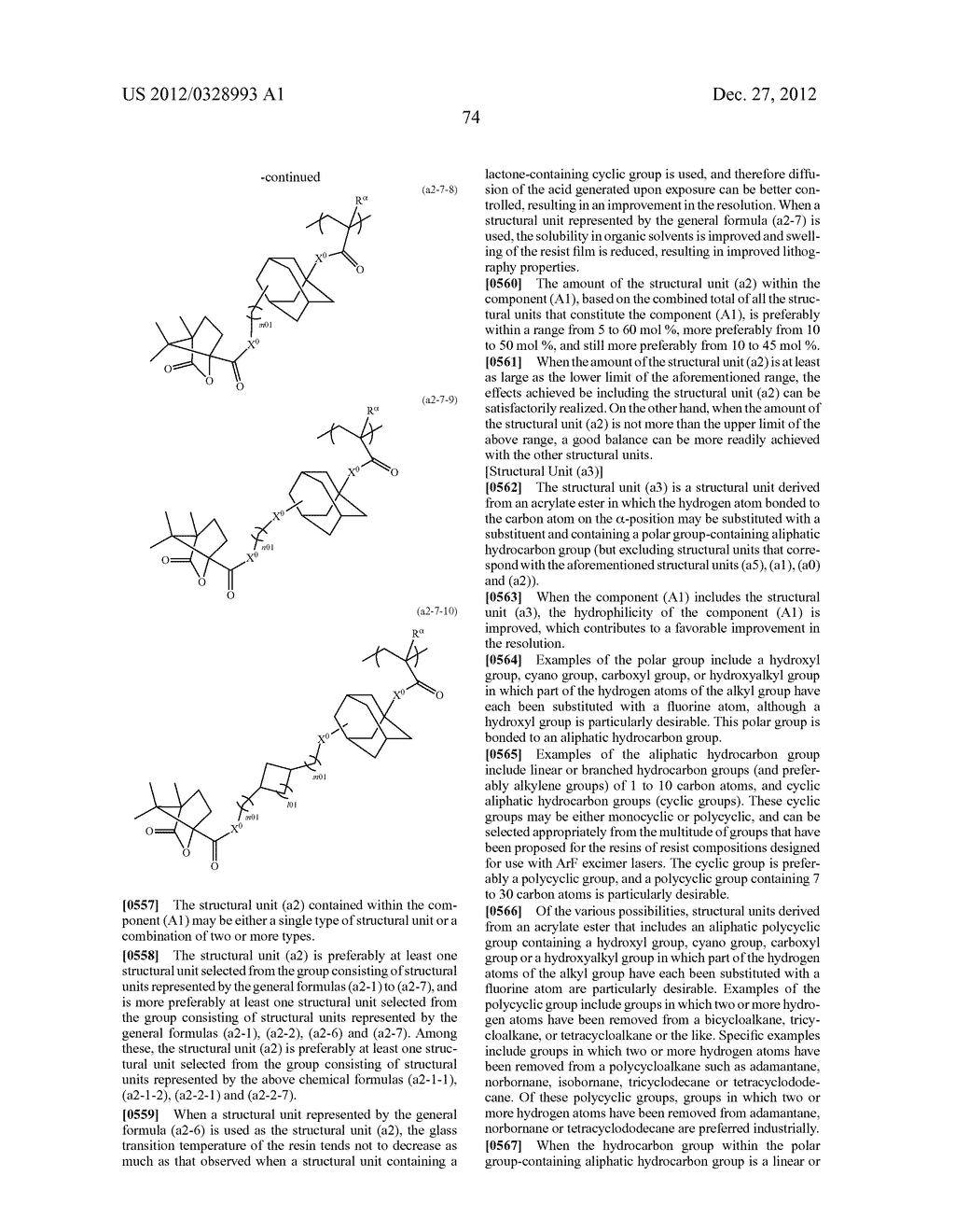 METHOD OF PRODUCING POLYMERIC COMPOUND, RESIST COMPOSITION, AND METHOD OF     FORMING RESIST PATTERN - diagram, schematic, and image 75