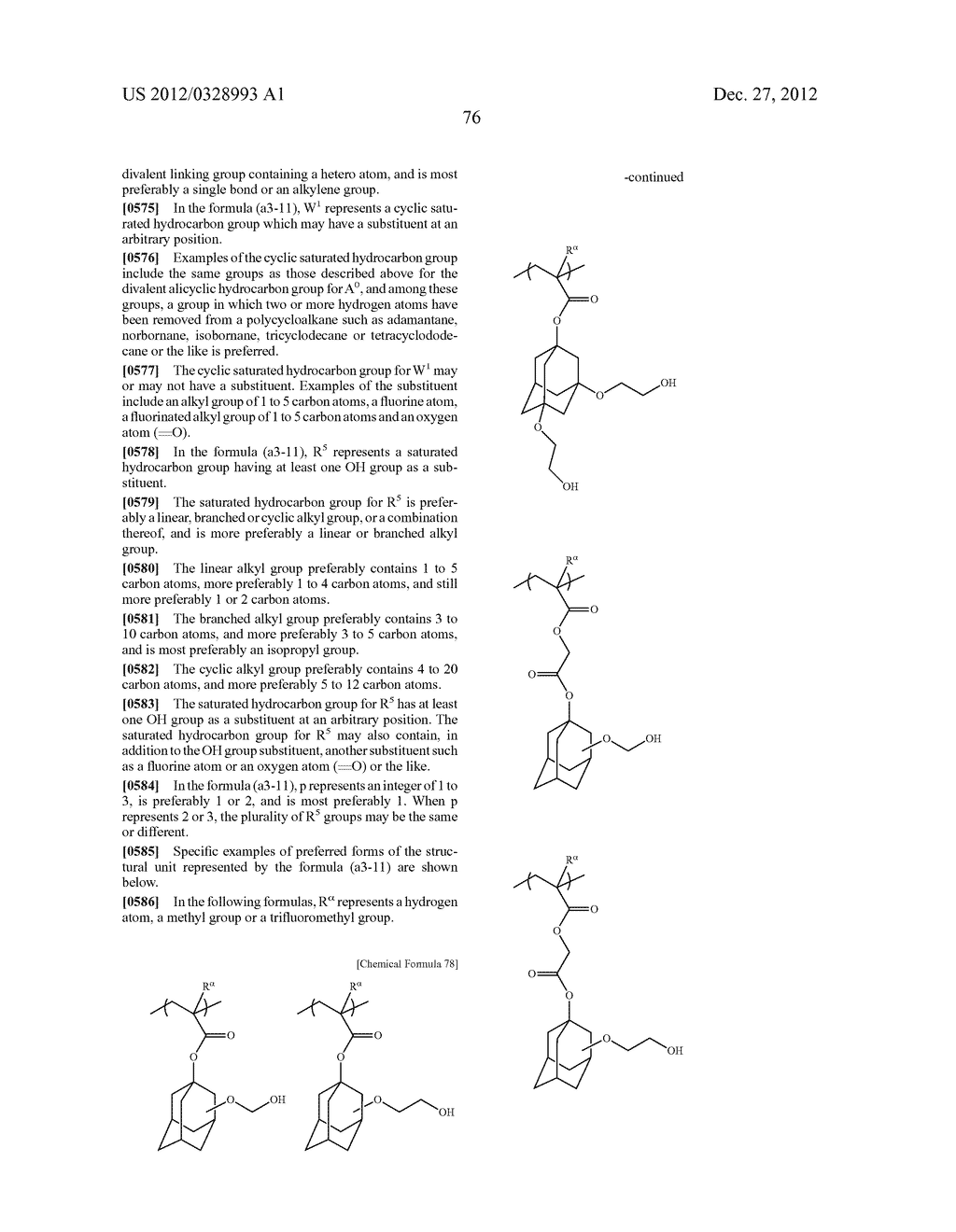 METHOD OF PRODUCING POLYMERIC COMPOUND, RESIST COMPOSITION, AND METHOD OF     FORMING RESIST PATTERN - diagram, schematic, and image 77